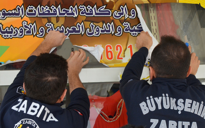 Adana ve Mardin Kızıltepe'de Arapça tabelalar indirildi