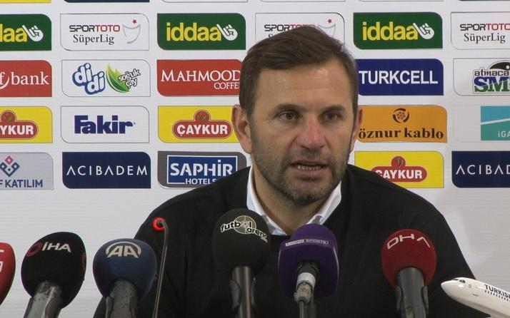 Okan Buruk: Beşiktaş karşısına kazanmak için sahaya çıkacağız