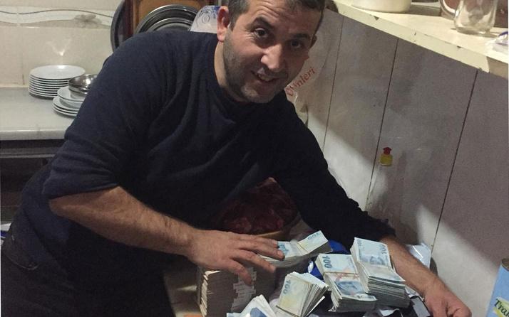 Trabzon'da internet siparişinden deste deste para çıktı