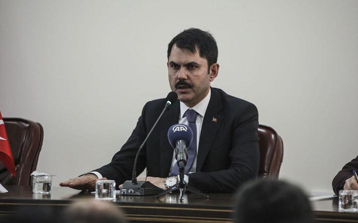 Çevre ve Şehircilik Bakanı Murat Kurum'dan güzel haber