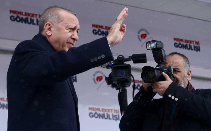 Erdoğan'ın Şubat ayı mesaisi baş döndürdü