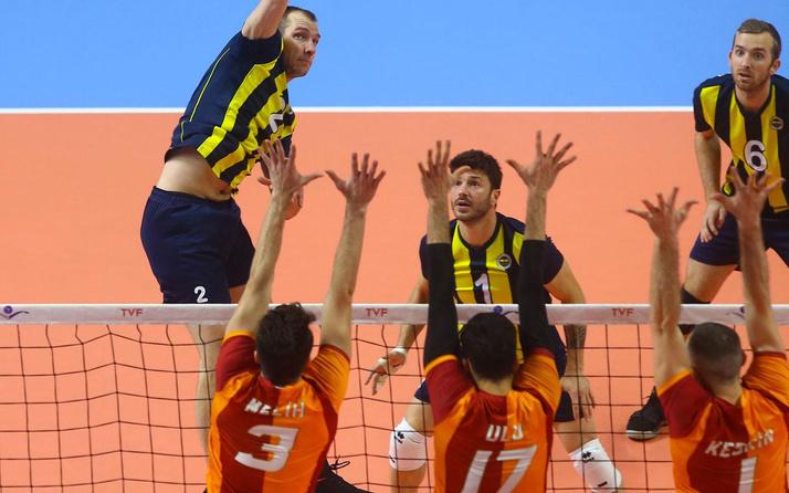 Voleybolda Galatasaray-Fenerbahçe derbisi oynanacak