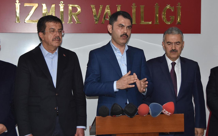 Bakan Murat Kurum'dan İzmir'e 'sosyal konut' açıklaması