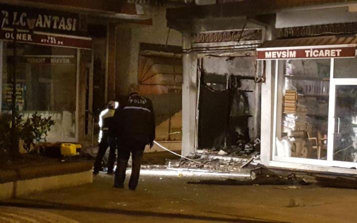 Trabzon Beşikdüzü'nde patlama! 1 Kişi ağır yaralı