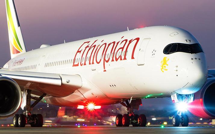Etiyopya Hava Yollarına ait Boeing tipi yolcu uçağı düştü.