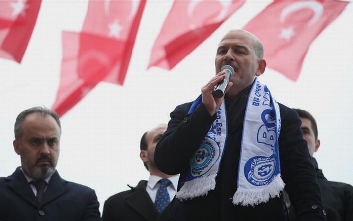 """İçişleri Bakanı Süleyman Soylu: """"Kandil'i Amerika yönetmektedir"""""""
