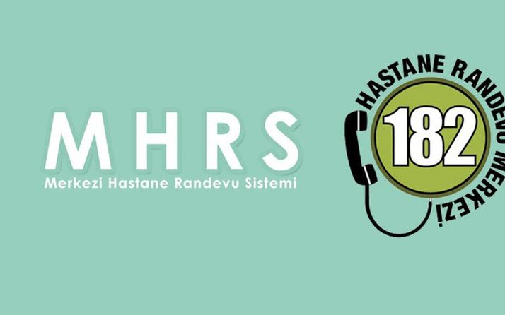MHRS randevu online hastane randevusu alma sayfası