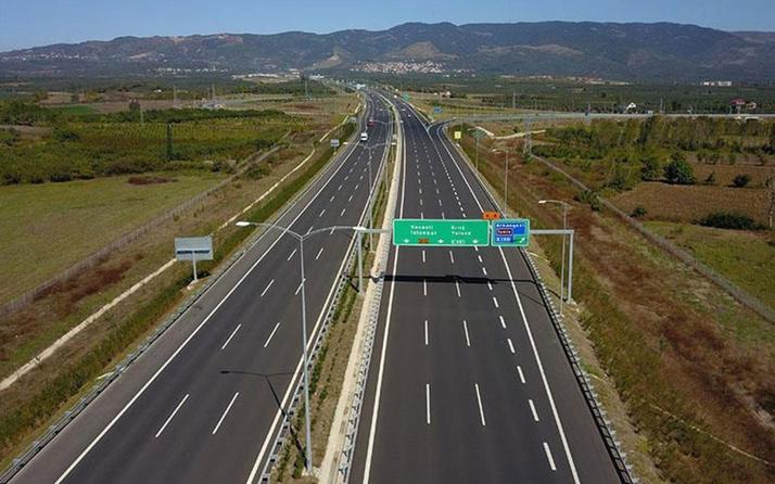 İstanbul-İzmir Otoyolu'nun bir bölümü daha açıldı