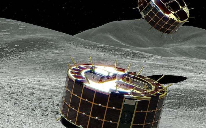 Japonya asteroitin üzerini patlatacak!