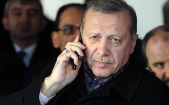 Erdoğan'ın telefon kılıfındaki dikkat çeken detay