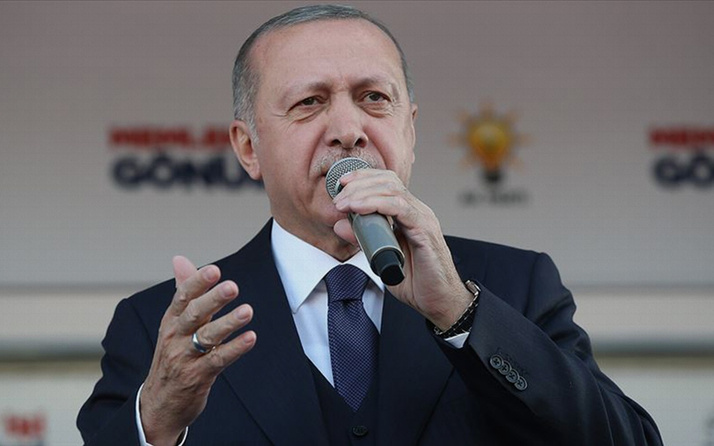 Cumhurbaşkanı Erdoğan miting finalini Bağcılar'da yaptı