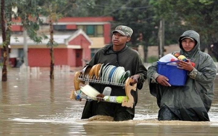 Bolivya'da sel felaketi! 55 binden fazla aile zarar gördü