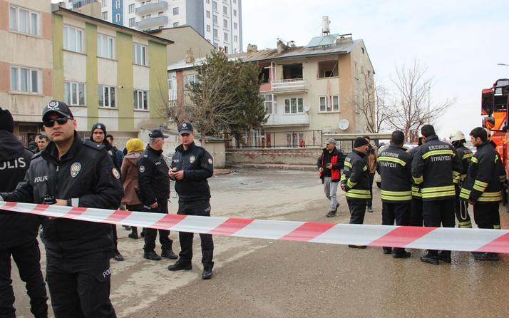 Erzurum'da bir evde patlama! 2 Afgan yaralandı
