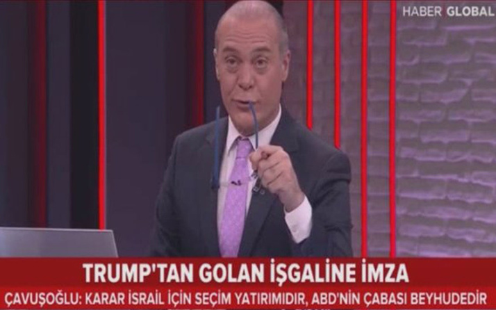 Haber Global spikeri yayına sarhoş mu çıktı Erhan Ertürk'ün olay görüntüleri