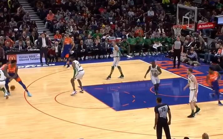 Cedi Osman'dan Celtics potasına 15 sayı