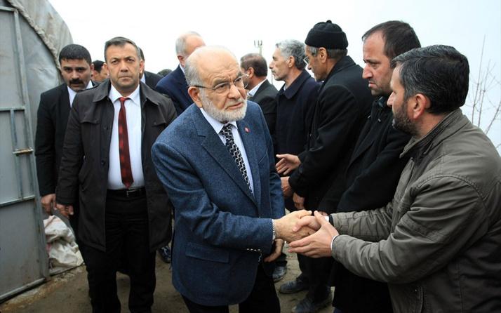 Saadet Partisi lideri Karamollaoğlu karşıyım diyerek tavrını ortaya koydu!
