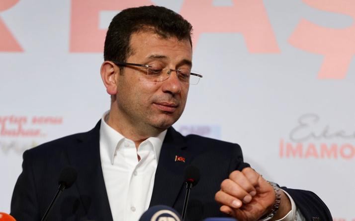 Ekrem İmamoğlu Fenerbahçe Galatasaray derbisine gidecek mi Bizzat kendisi açıkladı