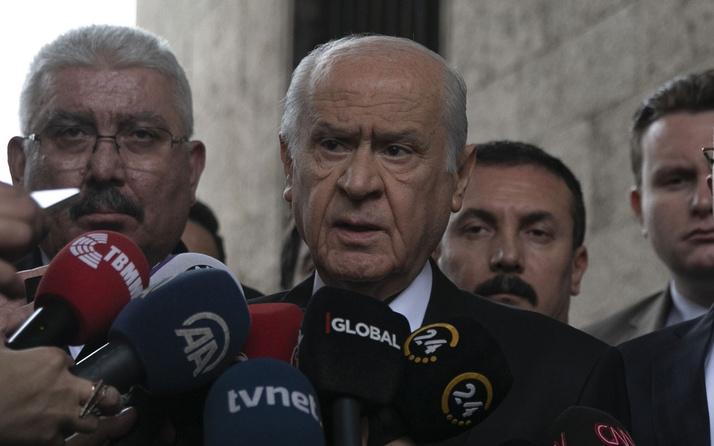 Devlet Bahçeli'den İmamoğlu'na tepki: Mazbatayı stadyuma taşımak...
