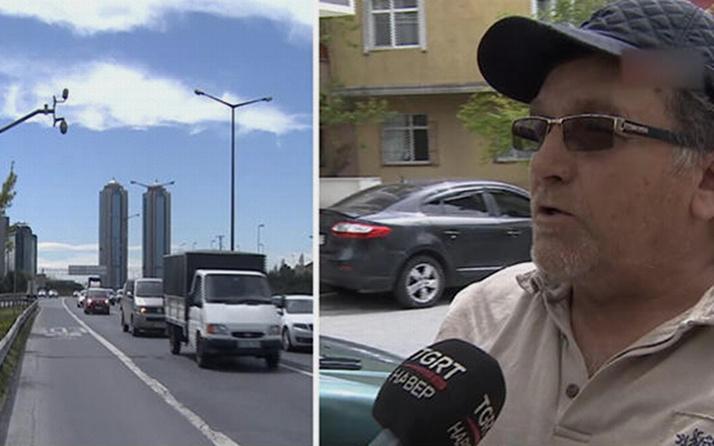 Yol kenarında tuvaletini yapan sürücüye bin 2 TL ceza geldi
