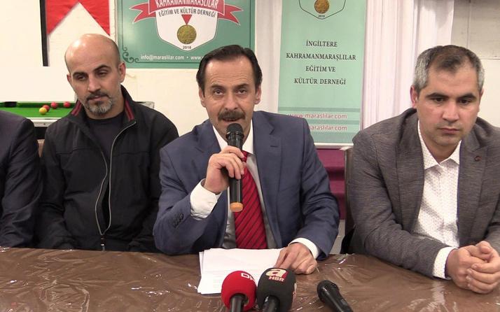 İngiltere'deki Türk derneklerinden saldırıya ortak tepki
