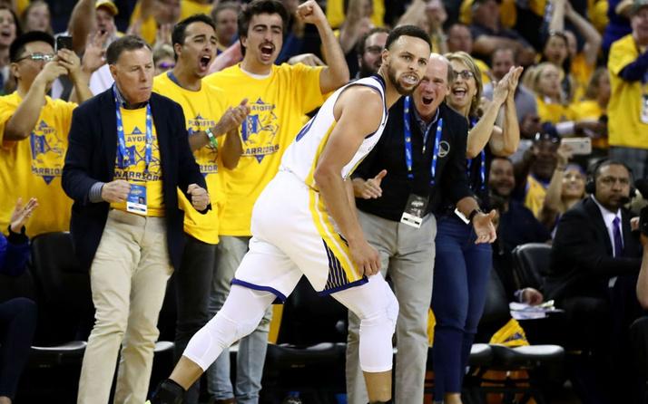 Stephen Curry play-off'ların ilk maçına rekorla başladı