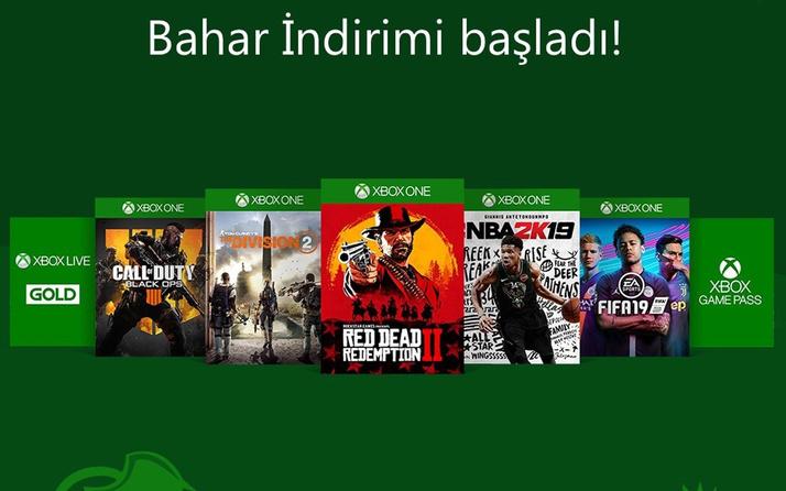 Xbox'larda 22 Nisan'a kadar yüzde 65'e varan indirim