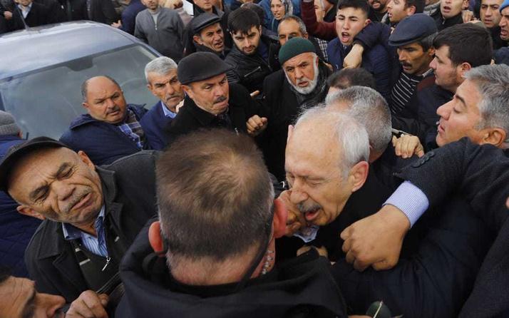 Kemal Kılıçdaroğlu'na yumruk atan Osman Sarıgün'ün elini öptüler