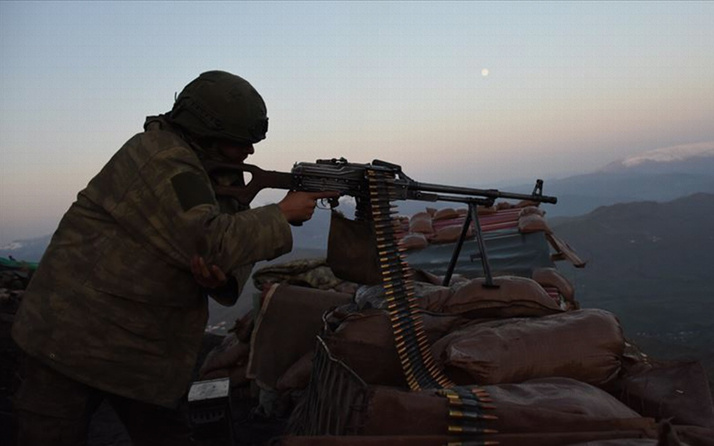 Afrin'de saldırı düzenleyen 10 terörist öldürüldü