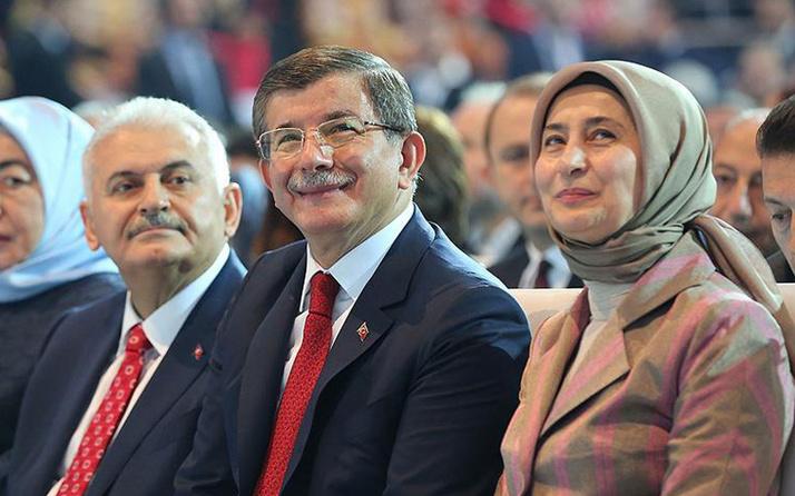 Ahmet Davutoğlu'nun eşiSare Davutoğlu'nun programı iptal edildi
