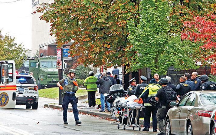 ABD'de Sinagoga silahlı saldırı! Çok sayıda yaralı var