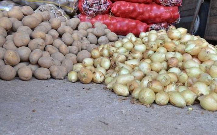 Patates ve soğan fiyatları düştü