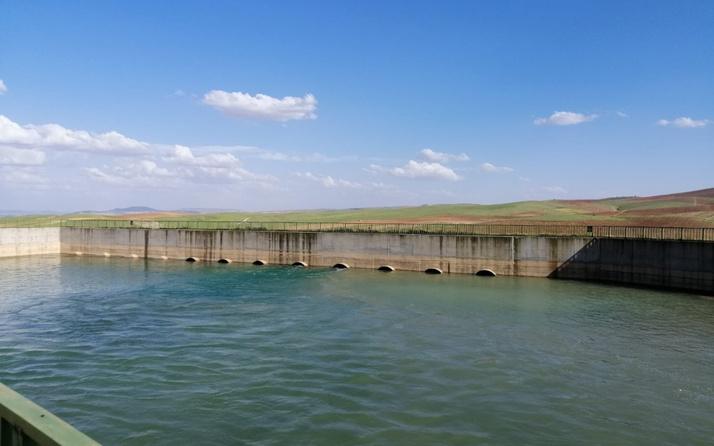 Suruç Ovası'na sezonun ilk suyu verildi