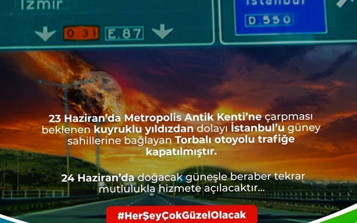 İstanbullu seçmene 'kuyruklu yıldız çarpacak' uyarısı
