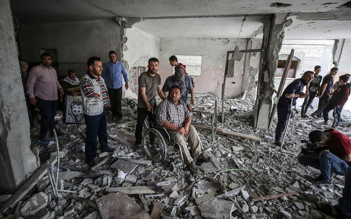 İsrail Refah'taki tek engelli merkezini de bombaladı