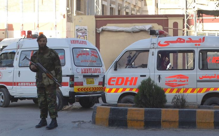 Pakistan'da otele saldırı! Silah sesleri geliyor