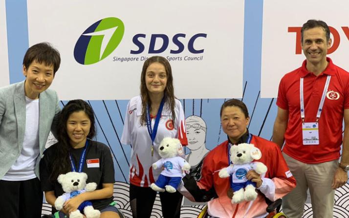 Sümeyye Boyacı Singapur'da altın madalya aldı