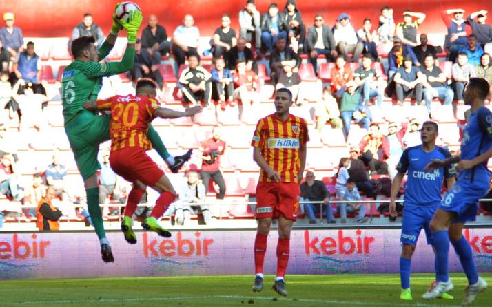 Kayserispor Kasımpaşa maçı golleri ve geniş özeti