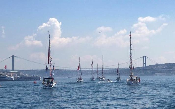 50 tekne Samsun'a çıkarma yapacak