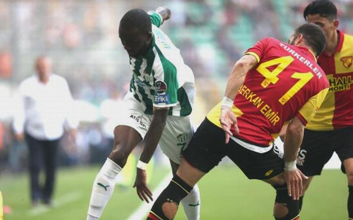 Bursaspor Göztepe maçı golleri ve geniş özeti