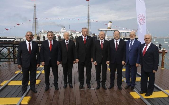 CHP'den, Kemal Kılıçdaroğlu'nun da olduğu liderler fotoğrafına eleştiri!