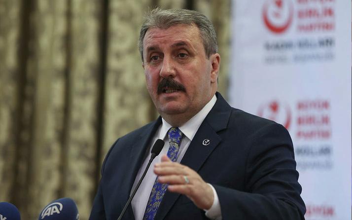 BBP Genel Başkanı Mustafa Destici'den İsrail'e tepki: Zulümlerinde boğulacaklar