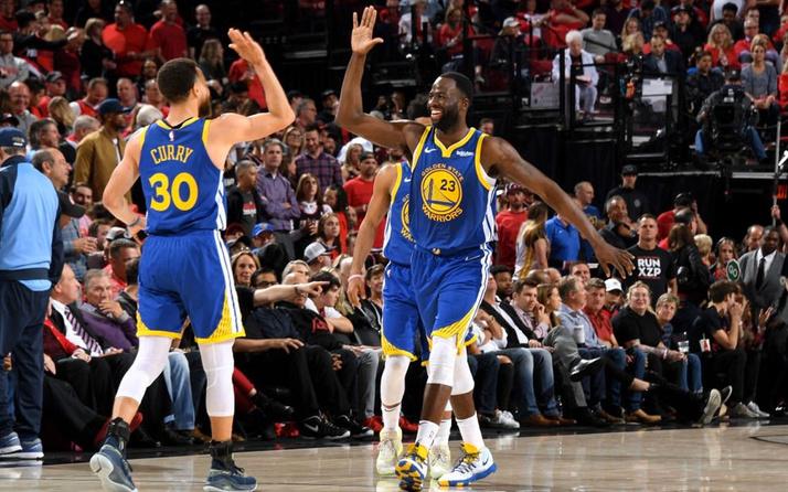 Golden State Warriors uzatmalarda finale yükseldi!