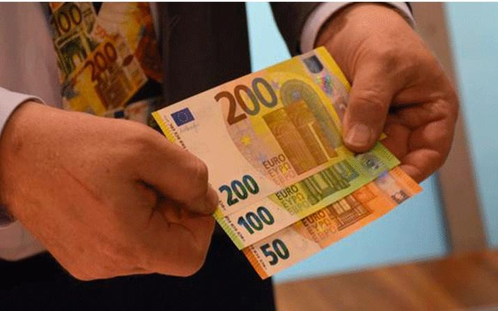 Merkez Bankası yeni 100 ve 200 euroluk banknotlar dolaşıma sundu