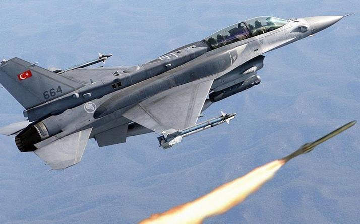 F-16 koltuğuna bu kez otizmli çocuklar oturdu