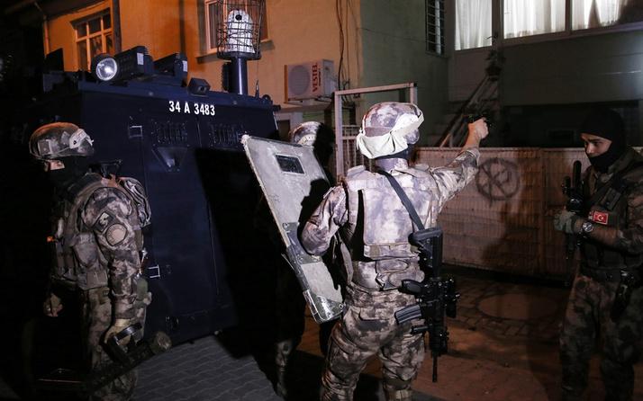 İstanbul'da büyük uyuşturucu operasyonu 80 gözaltı