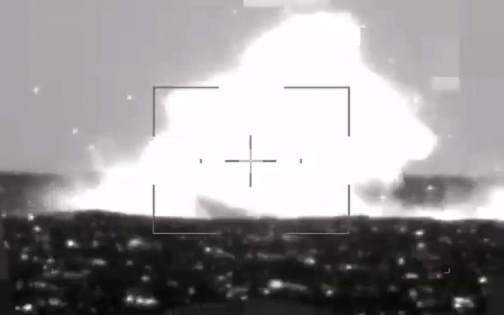 L-UMTAS füzesi hedefi tam isabetle vurdu