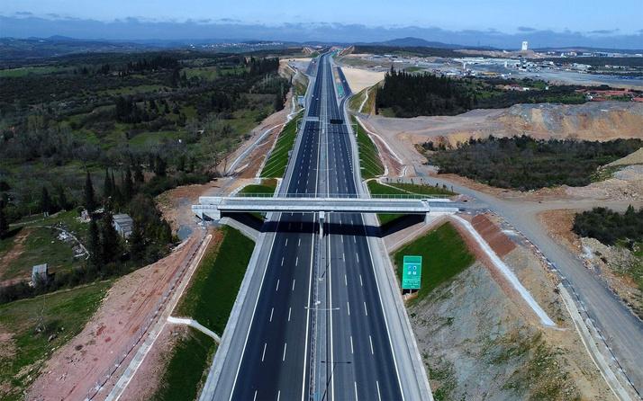 Kuzey Marmara Otoyolu'nun bir kısmı trafiğe açılıyor