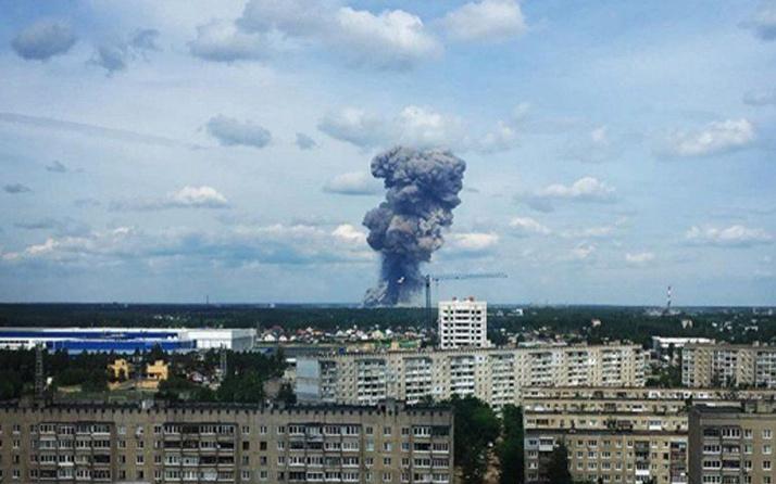 Rusya'da patlama! Çok sayıda yaralı var
