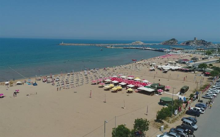 İstanbullular şehri terk etti Şile plajları boş kaldı