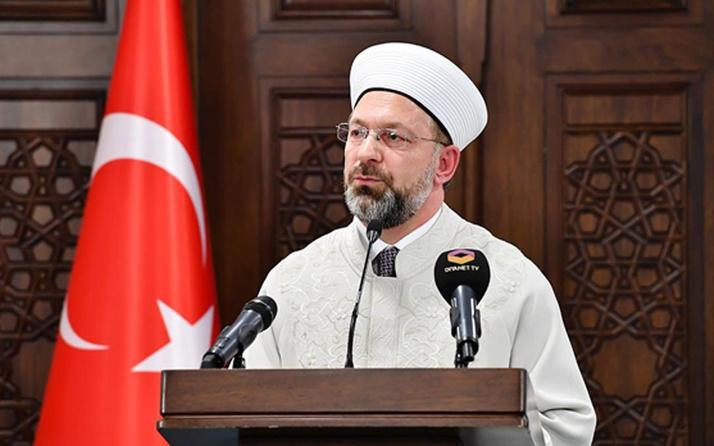 Cemaatle cuma kılınacak 1003 şükür kurbanı kesilecek Ali Erbaş'tan açıklama